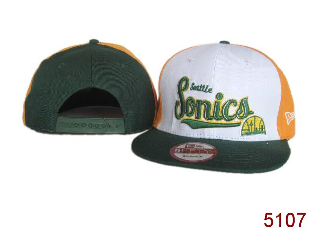 Seattle SpuerSonics Snapback Hat SG 3860