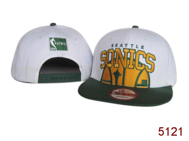 Seattle SpuerSonics Snapback Hat SG 3864