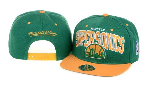 Seattle Sonics NBA Snapback Hat 60D