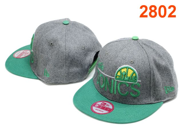 Seattle Sonics NBA Snapback Hat PT098