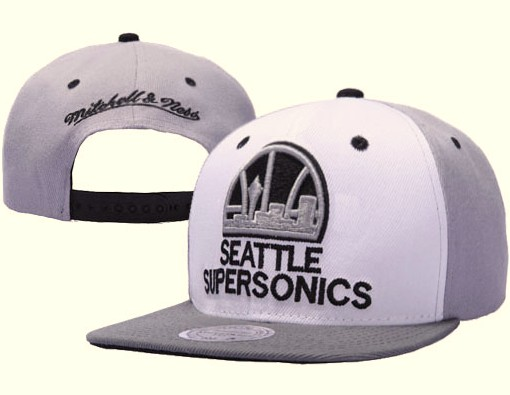 Seattle Sonics NBA Snapback Hat XDF070