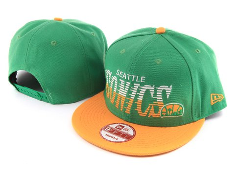 Seattle Sonics NBA Snapback Hat YS043
