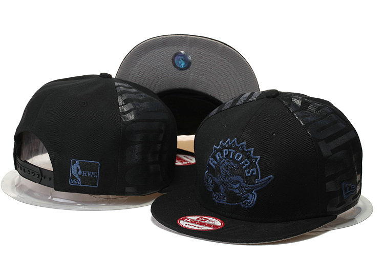 Toronto Raptors Snapback Black Hat GS 0620