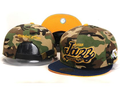 Utah Jazz New Snapback Hat YS E07
