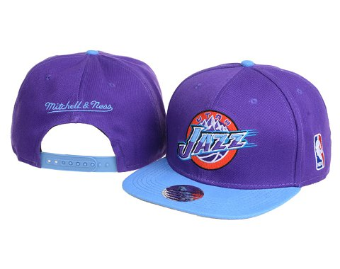 Utah Jazz NBA Snapback Hat 60D1