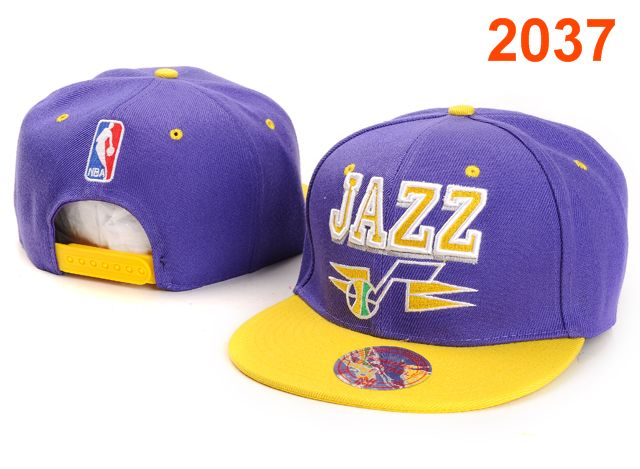 Utah Jazz NBA Snapback Hat PT020