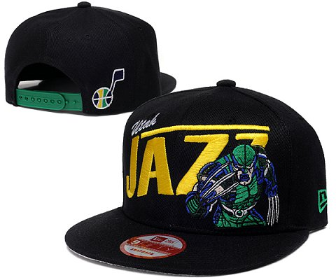 Utah Jazz NBA Snapback Hat SD