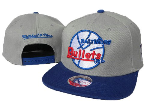 Washington Wizards Mitchell&Ness Snapback Hat DD 0011