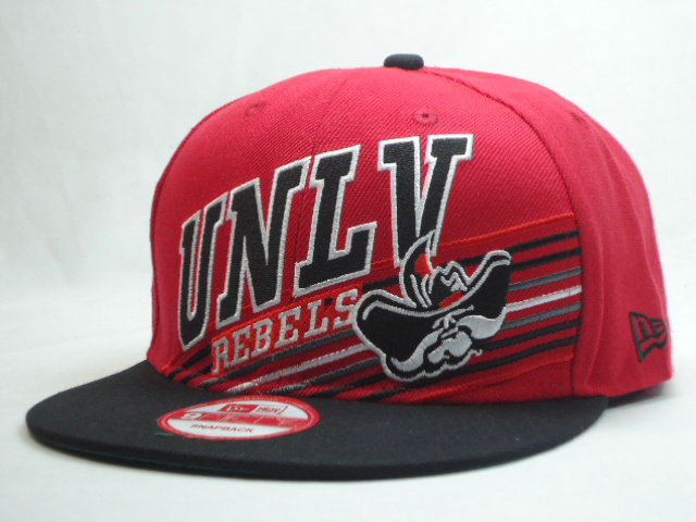 REBELS Red Snapbacks Hat SF