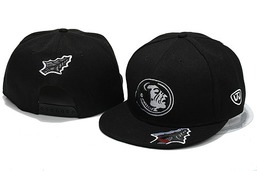 NCAA Black Snapback Hat YS 3