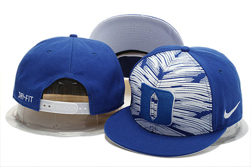 NCAA Blue Snapback Hat YS 1 0721