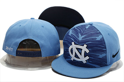 NCAA Blue Snapback Hat YS 0721