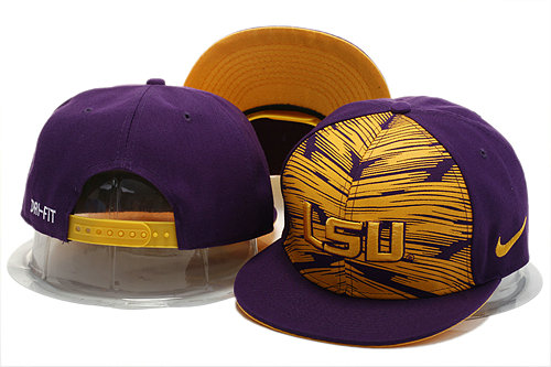 NCAA Purple Snapback Hat YS 0721