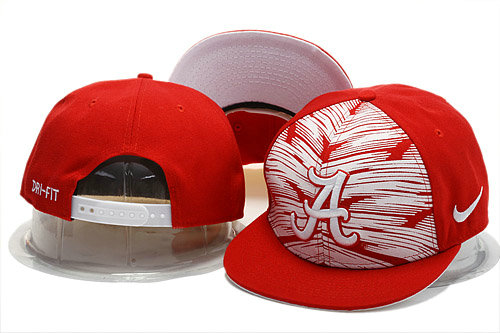 NCAA Red Snapback Hat YS 0721