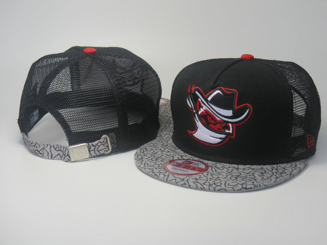Quad City River Bandits Mesh Snapback Hat LS 0613