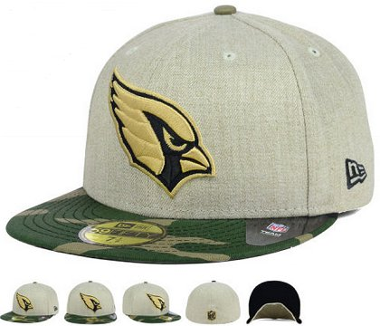 Arizona Cardinals Fitted Hat 60D 150229 41