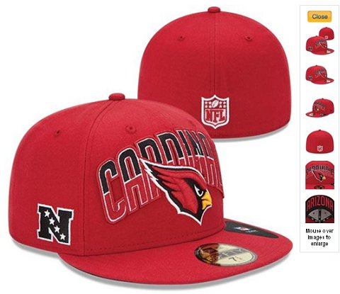 2013 Arizona Cardinals NFL Draft 59FIFTY Fitted Hat 60D17