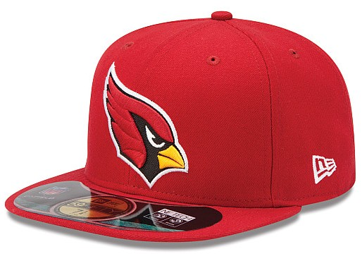 Arizona Cardinals NFL On Field 59FIFTY Hat 60D29