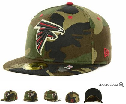 Atlanta Falcons NFL Fitted Hat 60d