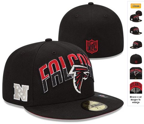2013 Atlanta Falcons NFL Draft 59FIFTY Fitted Hat 60D05