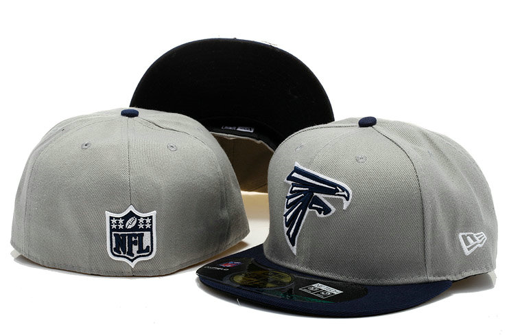 Atlanta Falcons Grey Fitted Hat 60D 0721