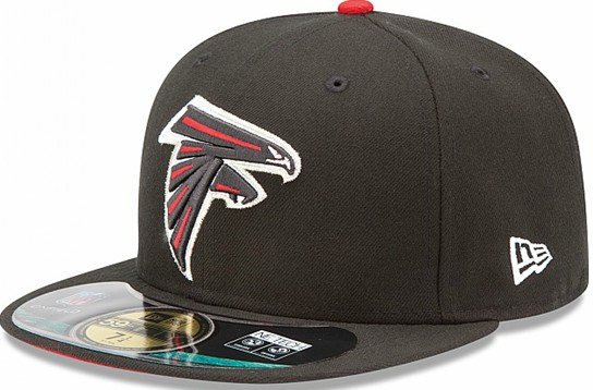 Atlanta Falcons NFL Sideline Fitted Hat SF04