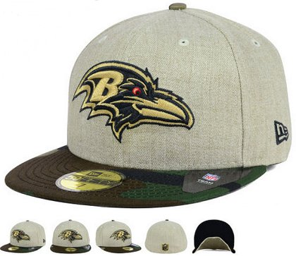 Baltimore Ravens Fitted Hat 60D 150229 45