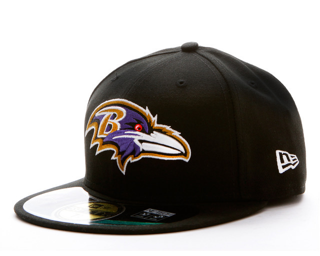 Baltimore Ravens NFL Sideline Fitted Hat SF15