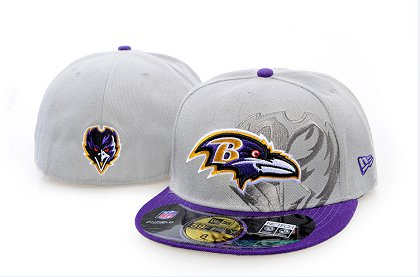 Baltimore Ravens Screening 59FIFTY Fitted Hat 60d212
