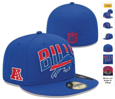 2013 Buffalo Bills NFL Draft 59FIFTY Fitted Hat 60D06