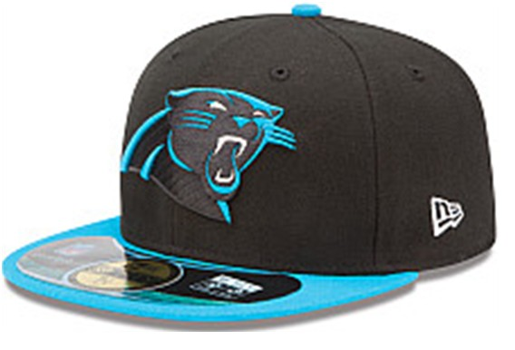 Carolina Panthers NFL On Field 59FIFTY Hat 60D03