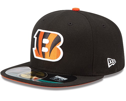 Cincinnati Bengals NFL On Field 59FIFTY Hat 60D16