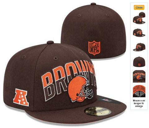2013 Cleveland Browns NFL Draft 59FIFTY Fitted Hat 60D32