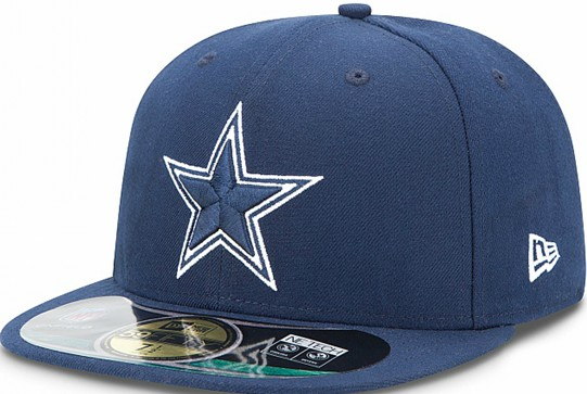 Dallas Cowboys NFL Sideline Fitted Hat SF07