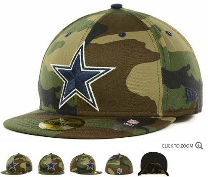 Dallas Cowboys NFL FITTED Hat 60d