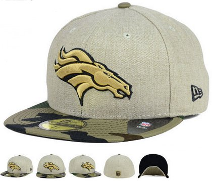 Denver Broncos Fitted Hat 60D 150229 38