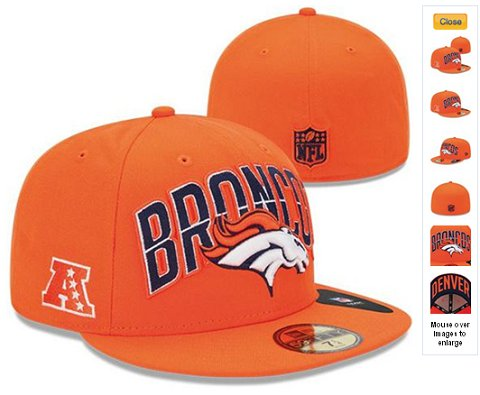 2013 Denver Broncos NFL Draft 59FIFTY Fitted Hat 60D13