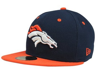 Denver Broncos NFL On Field 59FIFTY Hat 60D35