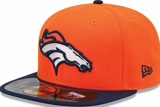 Denver Broncos NFL Sideline Fitted Hat SF12