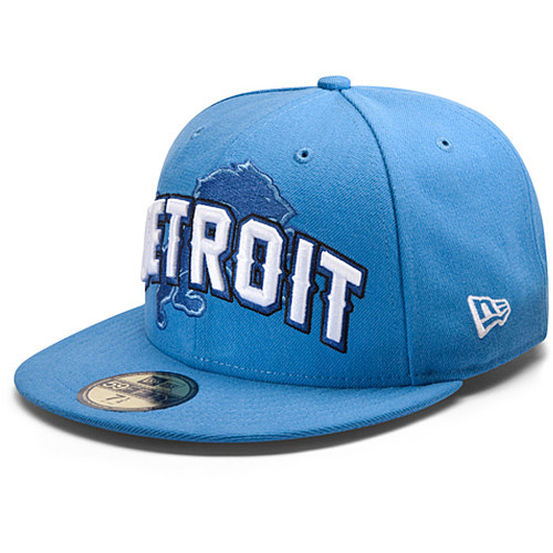 Detroit Lions NFL DRAFT FITTED Hat SF03