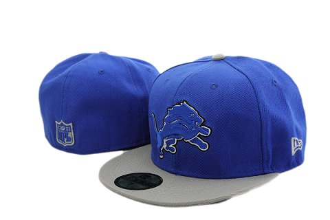 Detroit Lions NFL Fitted Hat YX14