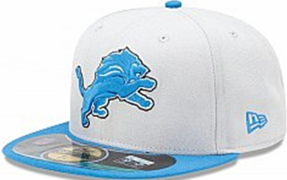Detroit Lions NFL Sideline Fitted Hat SF09