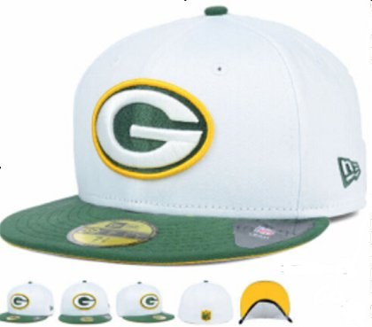 Green Bay Packers Fitted Hat 60D 150229 34