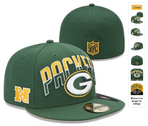 2013 Green Bay Packers NFL Draft 59FIFTY Fitted Hat 60D01