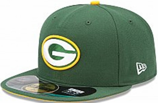 Green Bay Packers NFL Sideline Fitted Hat SF14