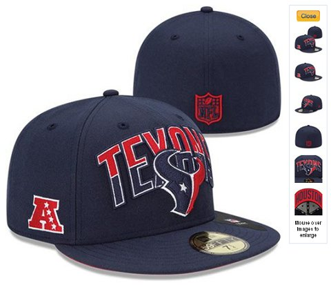 2013 Houston Texans NFL Draft 59FIFTY Fitted Hat 60D28