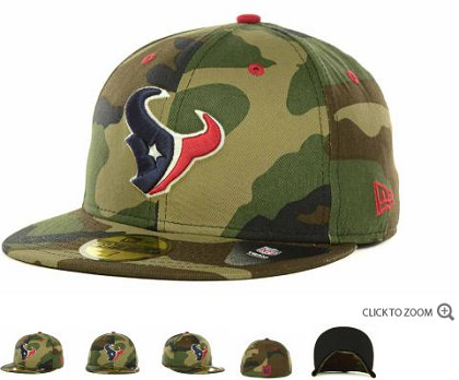 Houston Texans NFL Fitted Hat 60d