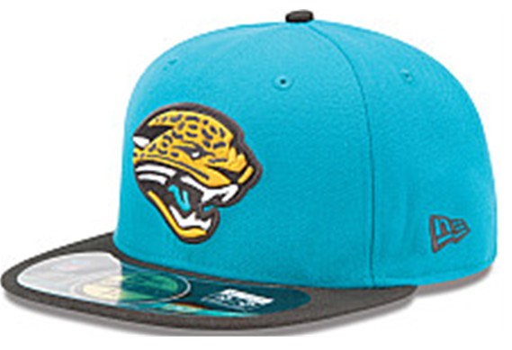 Jacksonville Jaguars NFL On Field 59FIFTY Hat 60D11