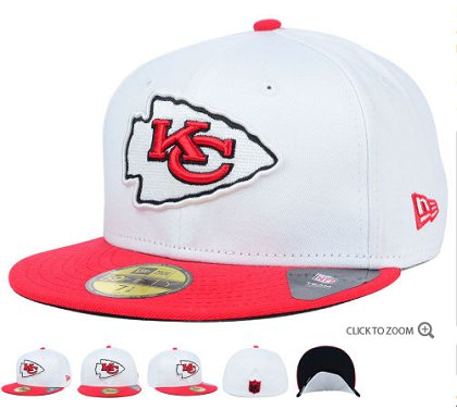Kansas City Chiefs Fitted Hat 60D 150229 31