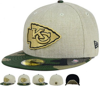 Kansas City Chiefs Fitted Hat 60D 150229 36